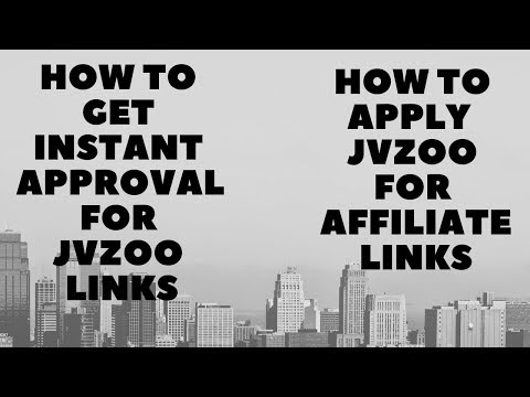 How To Get Instant Approval JVZoo Products  Link For  Beginner Affiliate Marketing Tutorial