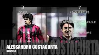 10 GREATEST AC MILAN PLAYERS EVER