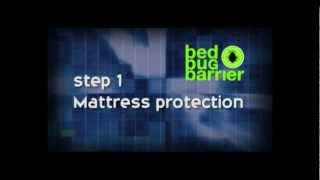 Bed Bug Barrier Instructional Video. DIY bed bug treatment. Save money & time! Thumbnail