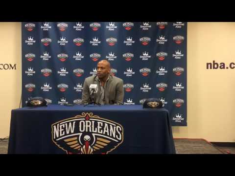 Pelicans general manager Dell Demps on drafting Frank Jackson