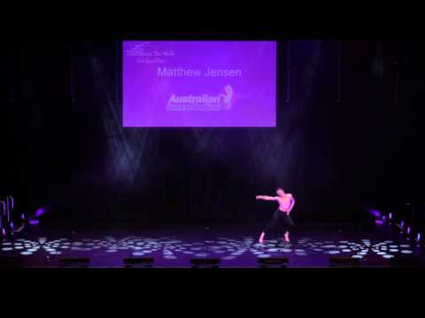 2013 Australian Dance Festival - Matthew Jensen, Dance Around The World Solo Competition