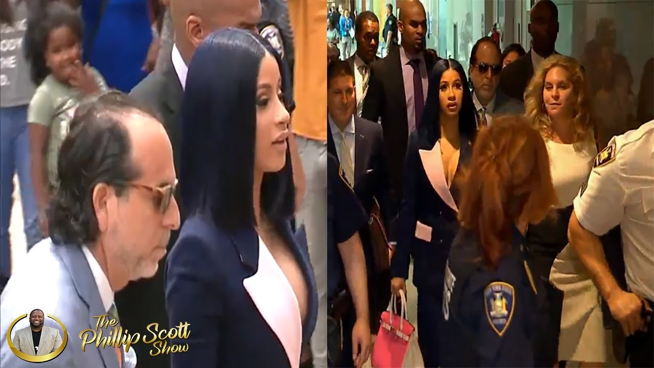 Hoodrat Behavior Caused Cardi B To Be Indicted On Felony Charges