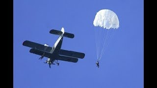 прыжок с парашютом как это было