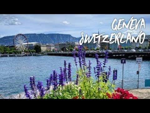A Walk Through Geneva Switzerland