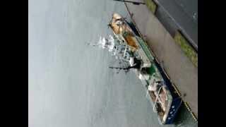 また来た 遠洋漁業船 長崎港