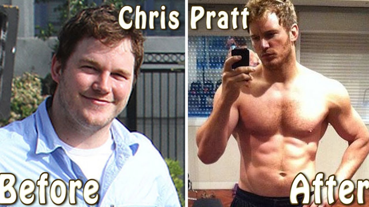 Chris Pratt Fitness Body Transformation From Fat To Fit Youtube