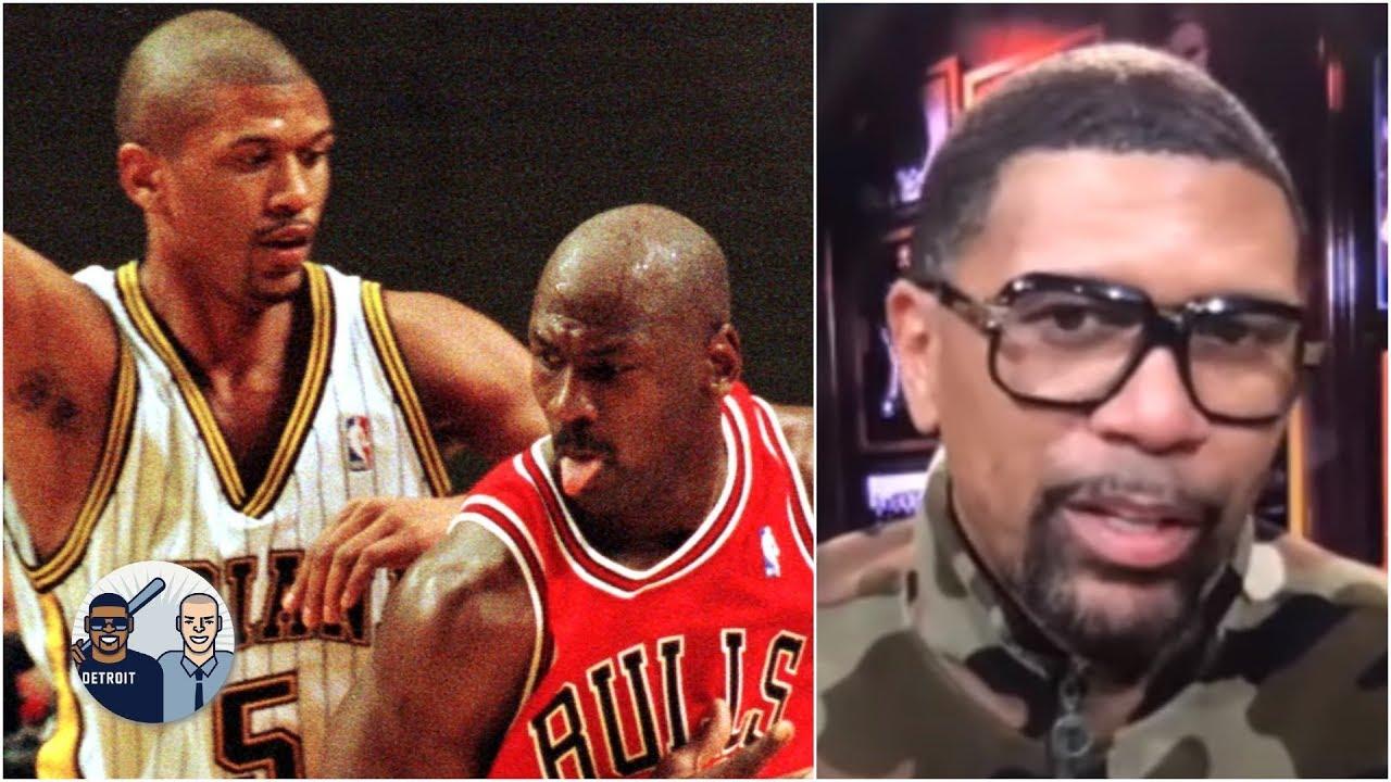 Jalen Rose reminisces about guarding Michael Jordan | Jalen & Jacoby