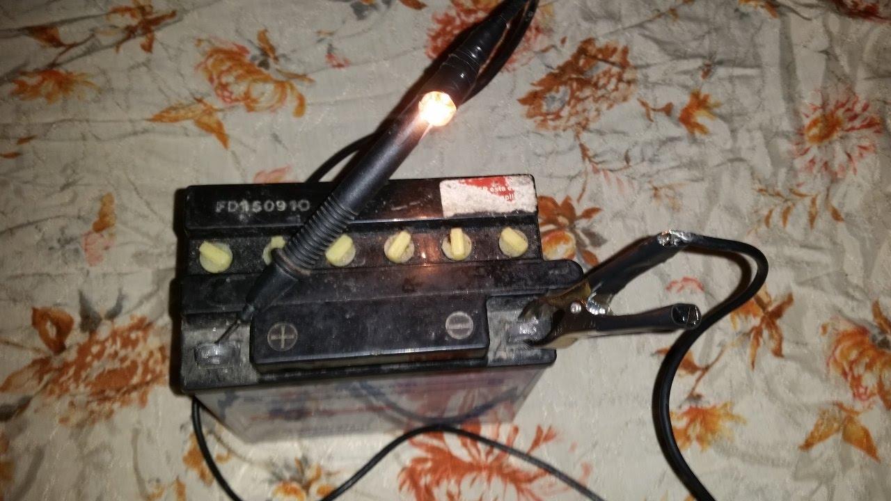lampara prueba Electromecánica de hacer casera Como by fYb76gy