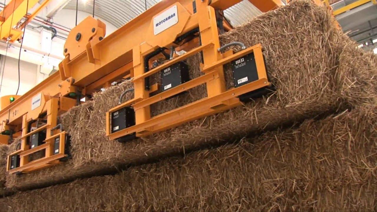 Funcionamiento de la Planta de Biomasa de Briviesca, Burgos, España | ACCIONA