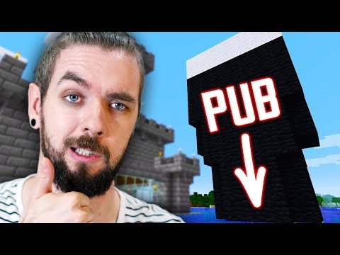 I Built My Own PUB At The Bottom Of My Guinness In Minecraft