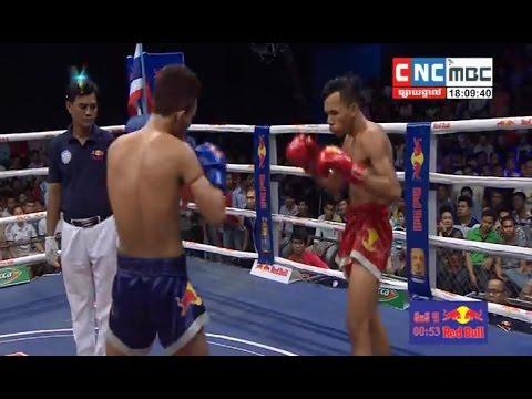 Bird Samkhem vs Prum Vy, Khmer Boxing CNC 25 Mar 2017, Kun Khmer vs Muay Thai