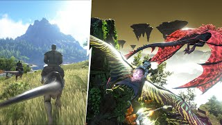 We Are Taming A Hunting Pack In ARK Crystal Isles | JeromeACE