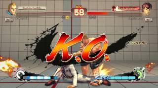 Uma Partida INCOMUN em Street Fighter IV