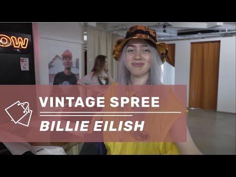 Billie Eilish - Vintage Clothing Spree