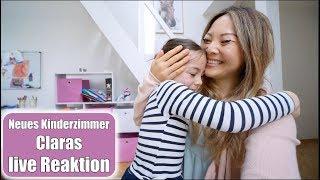 Claras live Reaktion zum neuen Kinderzimmer 😍 Hochebene & Pferde Mädchentraum | VLOG | Mamiseelen
