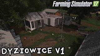 ️Prezentacja mapy - Dyziowice V1#56 Farming Simulator 17