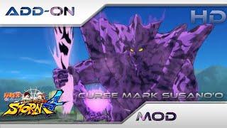 Download Video Naruto Shippuden Ultimate Ninja Storm 4 [MOD] : Curse Mark Susano(Sasuke's awakening):add-on[PC][HD] MP3 3GP MP4