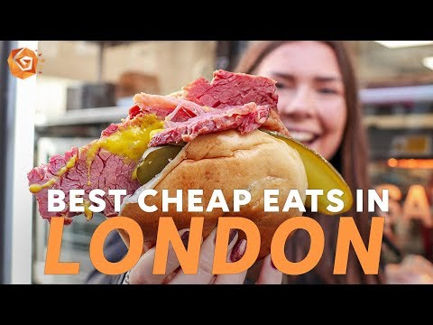 BEST CHEAP PLACES TO EAT IN LONDON | St Christopher's Inns Hostels