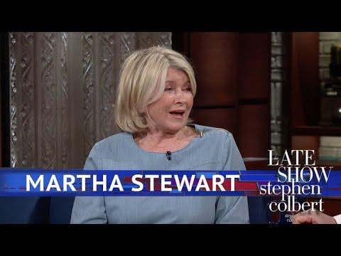 Martha Stewart Shows Stephen How To Garden With A Hammer