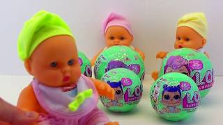 Dolls LOL Surprise Toys LOL Unpacking and review Lovely chrysalis lol part1 Grandmother's Tales