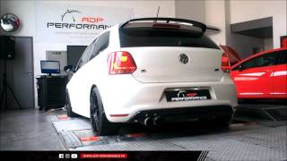 Reprogrammation moteur Stage 2 & Downpipe Supersprint VW Polo R WRC 2.0 TSI 220 @ 335 PS - ADP-P
