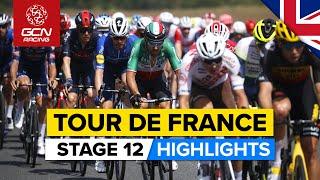 Tour de France 2021 Stage 12 Highlights   Mark Cavendish Vs The Breakaway