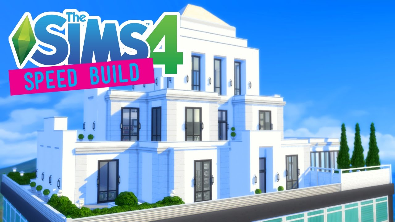 The sims 4 speed build regal art deco penthouse for Deco appartement sims 4