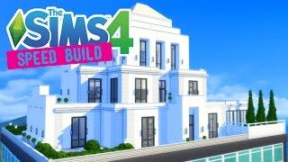 The Sims 4 -Speed Build- Regal Art Deco Penthouse! (Vintage Glamour Stuff) - No CC -