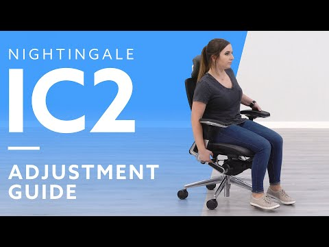 How-To: Adjustable The Nightingale IC2 Ergonomic Chair With Headrest