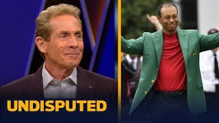 Tiger has risen back to the very top of sports after Masters win - Skip Bayless | GOLF | UNDISPUTED