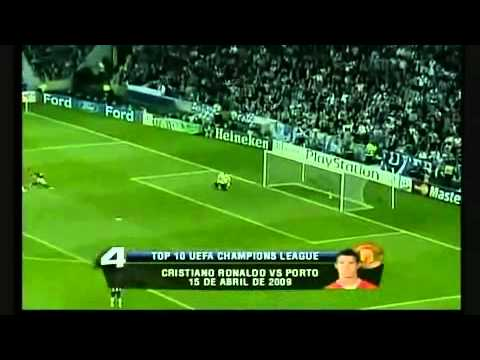 Champions League Top 10 Goals 2008-2009