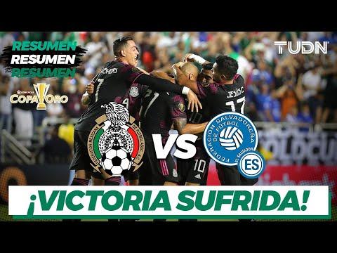 Download Resumen y goles   México vs El Salvador   Copa Oro 2021   Grupo A   TUDN