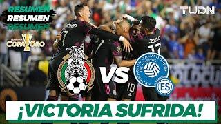 Resumen y goles | México vs El Salvador | Copa Oro 2021 | Grupo A