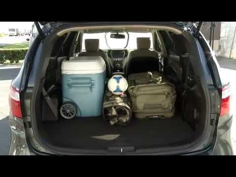 2013 Hyundai Santa Fe Lwb Interior Youtube