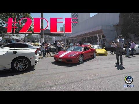 Largada do segundo encontro de Ferrari em São Paulo