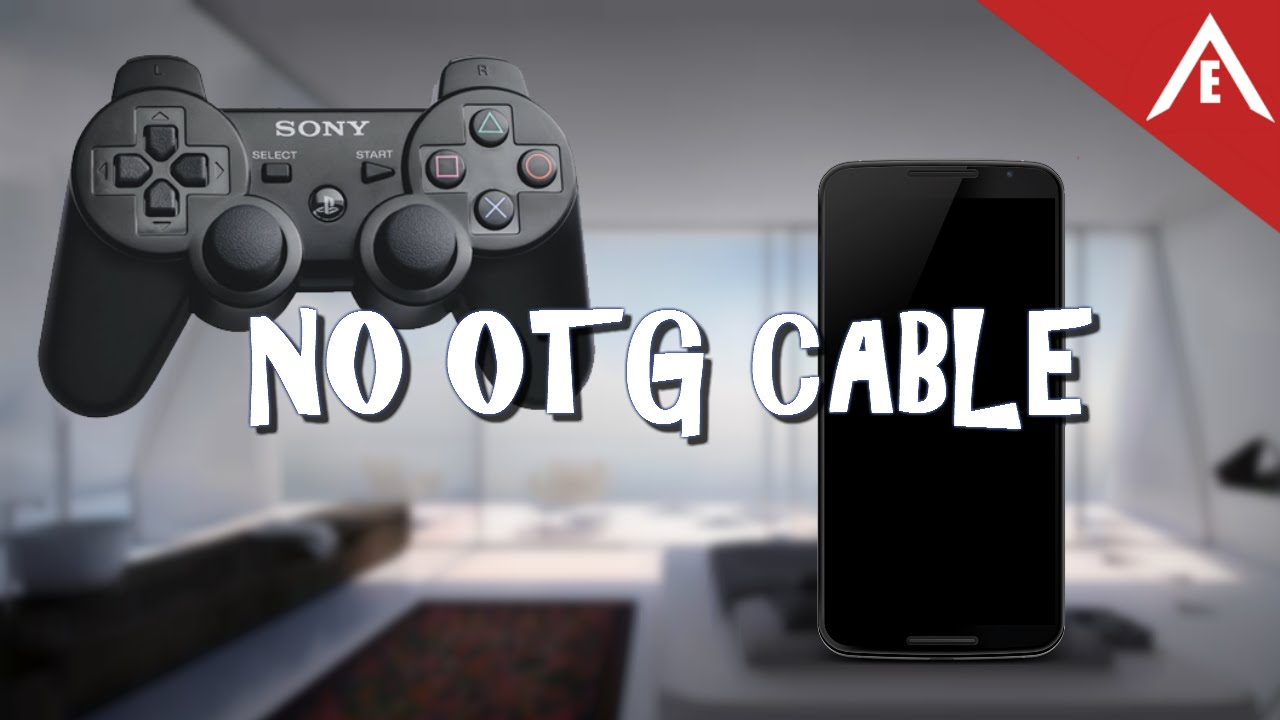 PS3 Controller to Android (no otg cable) HD