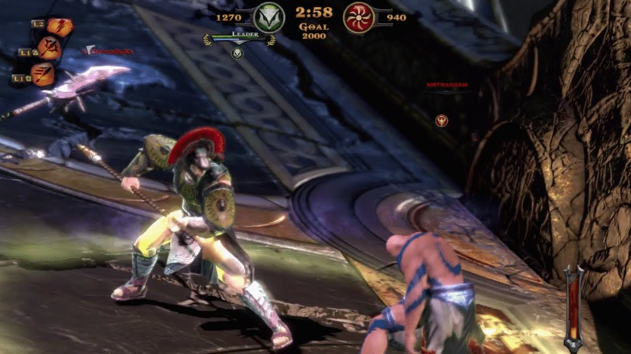 God of war ascension hd multiplayer win lance of zeus youtube voltagebd Gallery