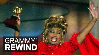 Watch Salsa Legend Celia Cruz Win At The 2002 Latin GRAMMYs | GRAMMY Rewind