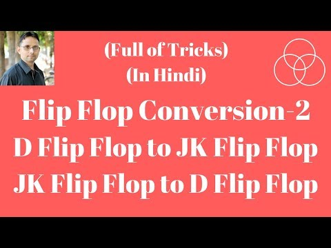 D to JK Flip Flop Conversion (Digital Electronics-47) by SAHAV SINGH YADAV