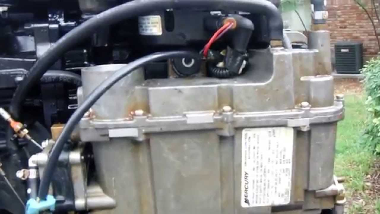 Mercury Optimax 150 Wiring Diagram Kia Picanto 2005 Radio Fuel Pump Clean-out - Youtube