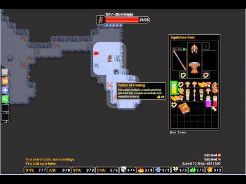 Rogue's tale roguelike   Silver mage 02