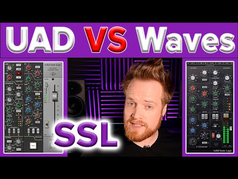 Waves Vs Universal Audio Ssl Plugin Features Audio Shootout Youtube