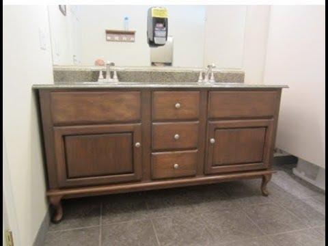 Restroom Vanity Legs