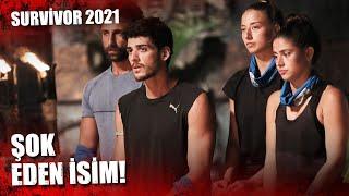 Survivor'a Veda Eden İsim...   Survivor 2021