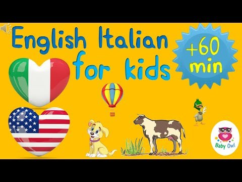 English Italian for children | Inglese italiano per bambini