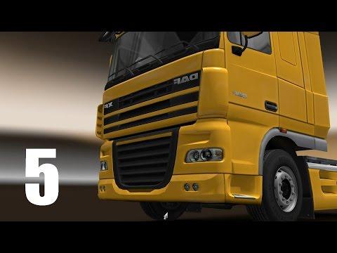 Euro Truck Simulator 2 [5] Sheffield - London | Outdoor Floor Tiles | 20t | Night [PC.1080.60]