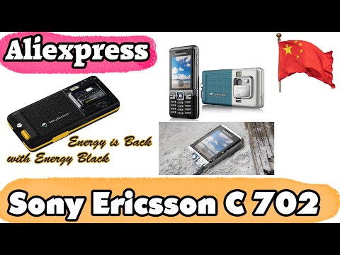 Sony Ericsson C702. Aliexpress. Посылка из Китая. Unboxing | Обзор