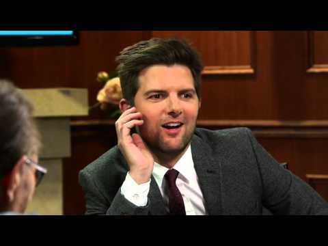 Rob Lowe Is The Biggest Flirt On Parks And Rec | Adam Scott | Larry King Now - Ora TV