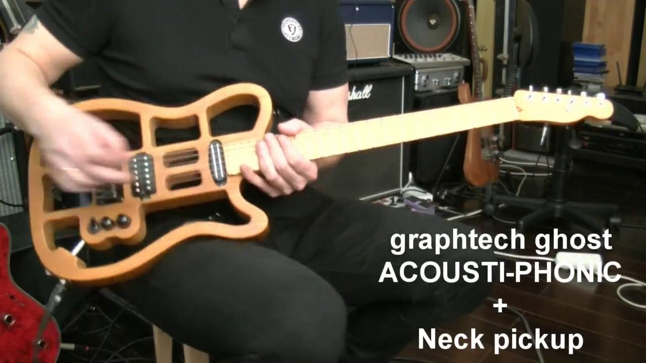 Graphtech Ghost Aсоusti-Phonic - YouTube