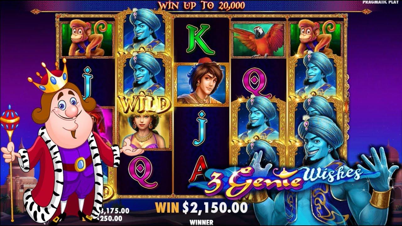 Aladdins Wishes Slot Machine